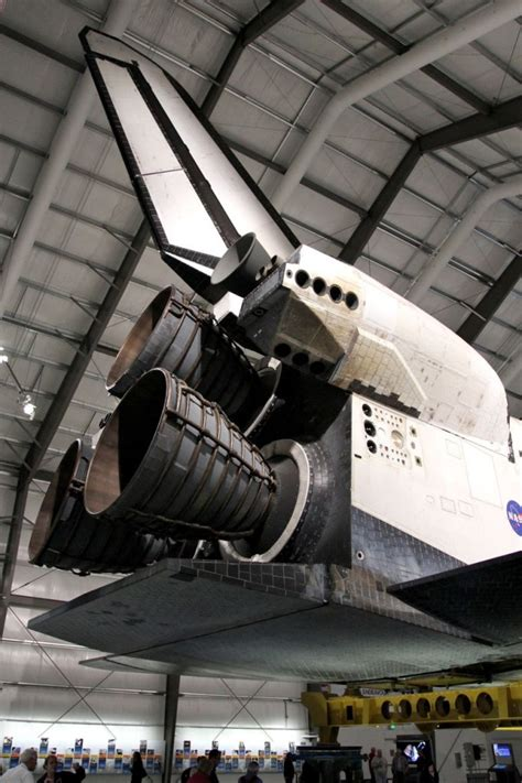 Evocative Endeavour – Space Shuttle Endeavour at the