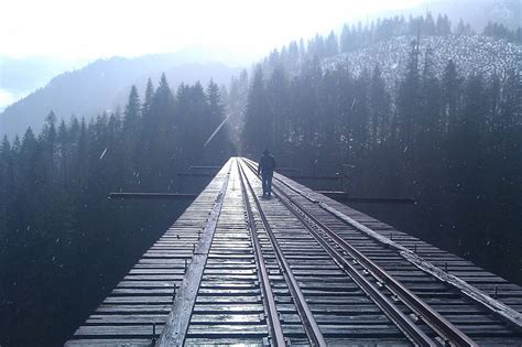 Picture of the Day: Bridge to the Unknown «TwistedSifter