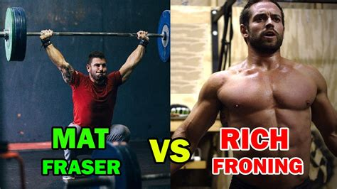 MAT FRASER VS RICH FRONING GO RAGE ON 16