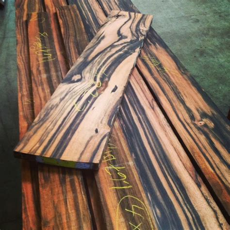 4/4 Macassar Ebony Lumber 50 board feet | Tropical Exotic