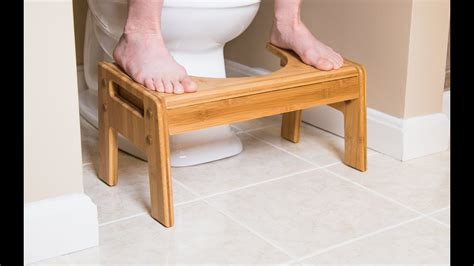 The SquattyPotty - Toilet Stool - YouTube