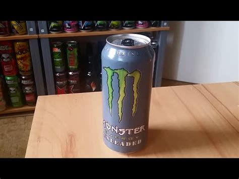 """""""MONSTER ENERGY UNLEADED (USA)"""" REVIEW (GERMAN) - YouTube"""
