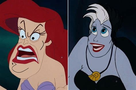 These Disney Character Face Swaps Are a Hilarious