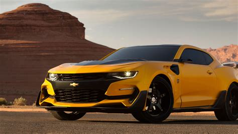 Wallpaper Chevrolet Camaro, Bumblebee, Transformers: The