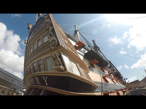 HMS Victory - Portsmouth Historic Dockyard - Quarter Deck