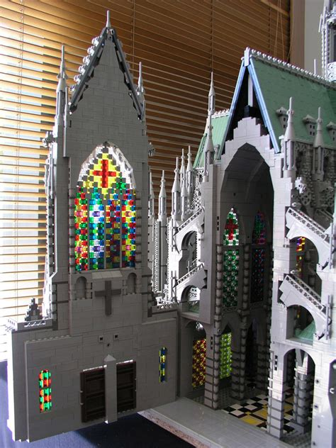 12 Amazing Christian Sculptures Made Entirely Out of LEGOs