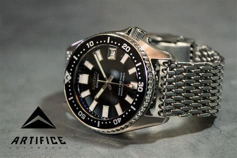 Shark 62MAS Seiko SKX013 - Artifice HoroWorks