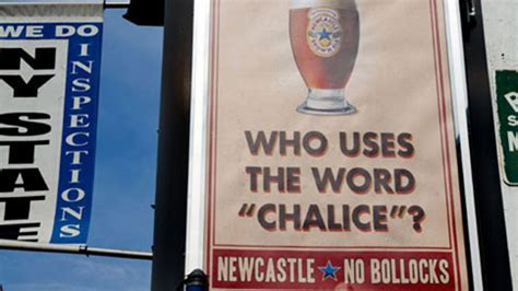Newcastle Mocks Stella Artois and Its Chalice in New