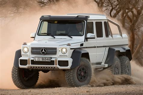 Mercedes-Benz G63 AMG 6x6 to Cost $600,000 in Germany