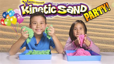 KINETIC SAND PARTY!!! Sand vs
