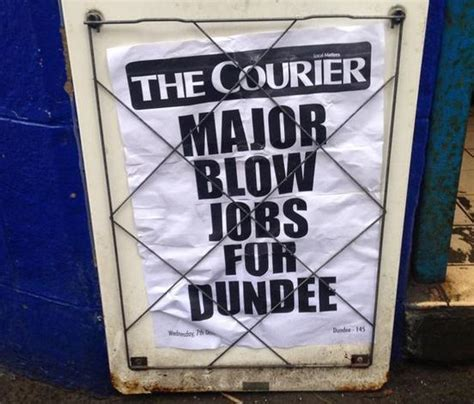 False alarm everyone, Dundee is not offering blow jobs but