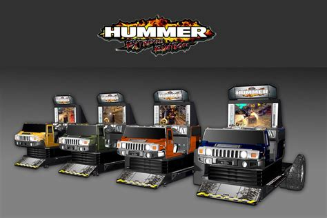Hummer Extreme Edition Video Arcade Game | S