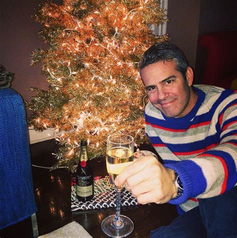 Andy Cohen from Stars Celebrate Christmas 2014 | E! News