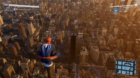 Spider-Man PS4 World Map Size Revealed, Bigger Than All