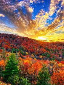 Fall Sunset in Highlands, North Carolina | Nature