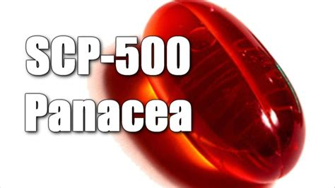 SCP-500 Panacea   Safe   medical scp / chemical scp - YouTube