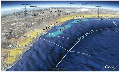 The largest tectonic relief breaking the Earth's surface