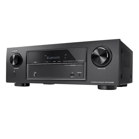 Receiver Denon AVR-X540BT, Bluetooth, 5 x 70 W, Negru