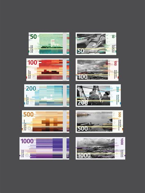 Norway's Beautiful New Kroner Banknotes Designed by
