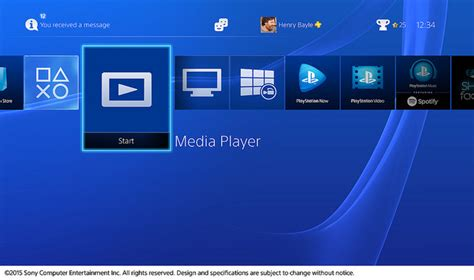 New PS4 Media Player Lets You Stream Video, Audio From a