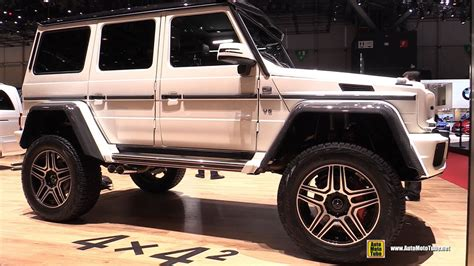 2016 Mercedes G-Class G500 4x4 Squared - Exterior and