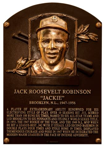 Robinson, Jackie | Baseball Hall of Fame