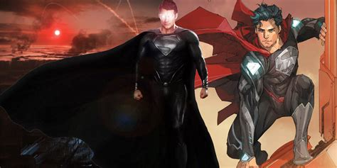Superman: 15 Things You Didn't Know About The Black Suit