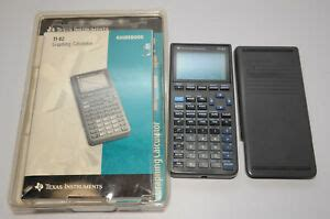 Texas Instruments TI-82 Graphing Calculator w/ Manual