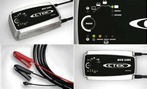CTEK Battery Charger MXS 25ec Fully Automatic 8 Stage 25a
