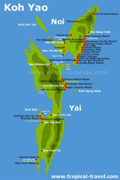 Koh Yao | Thailand´s islands and beaches | how to get there