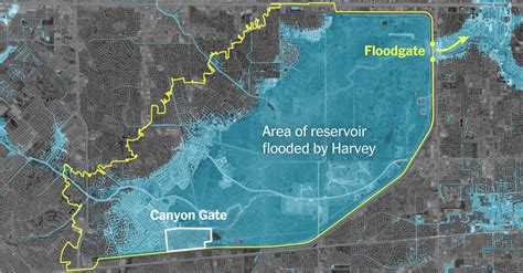 How One Houston Suburb Ended Up in a Reservoir - The New