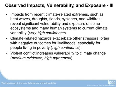 IPCC Climate Change 2014: Impacts, Adaptation, and