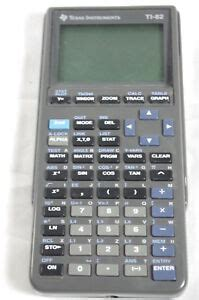 Texas Instruments TI-82 (Tested)Graphing Calculator with