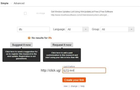 Online URL Shortener to Provide Custom Text For URL, See