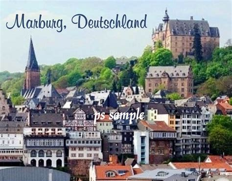 Germany - MARBURG, DEUTSCHLAND - Travel Souvenir FLEXIBLE