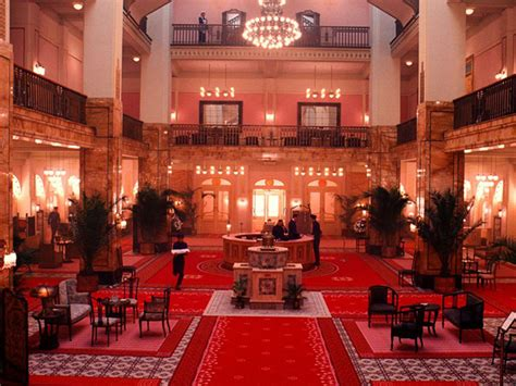 "Step Inside the Amazing Interiors On ""The Grand Budapest"