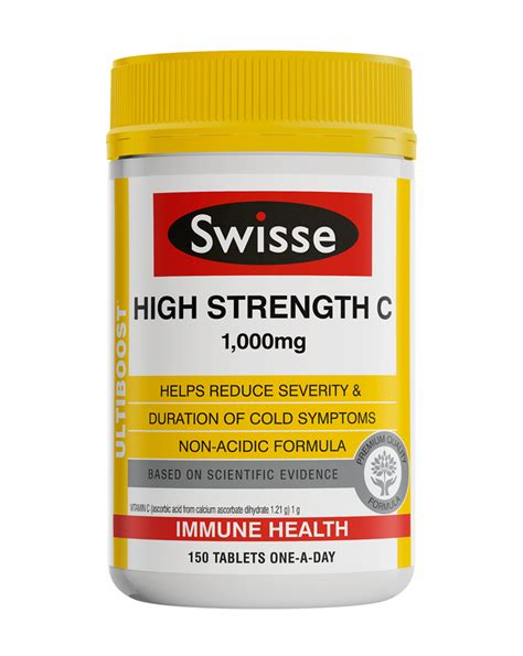Swisse Ultiboost High Strength C Reviews - ProductReview