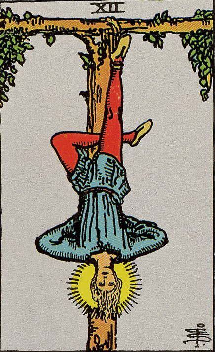 Rider Waite- XII - The Hanged Man | Tarot karten