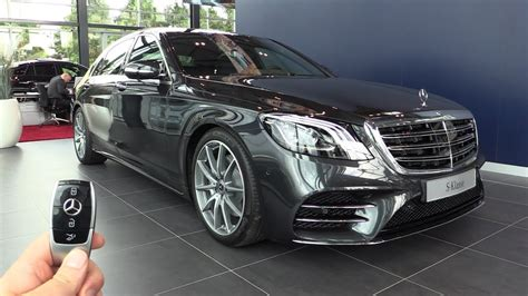 2018 Mercedes S Class L AMG In Depth Review New Interior