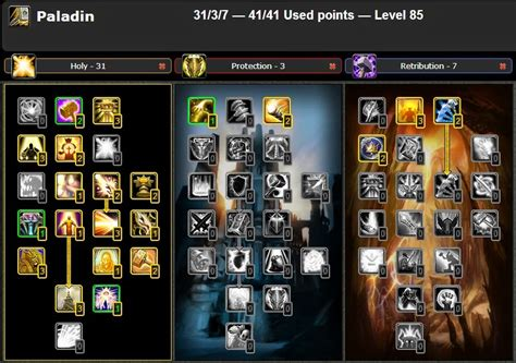 PVP HOLY PALADIN TALENT & GLYPHS GUIDE WOW CATACLYSM 4