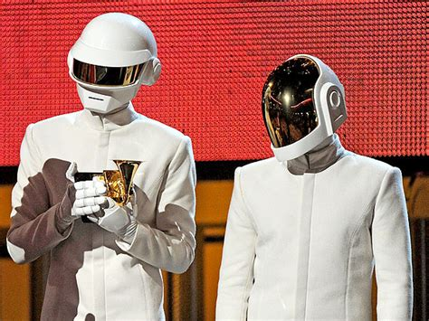 Daft Punk Without Helmets: See the Grammy-Winning Robots