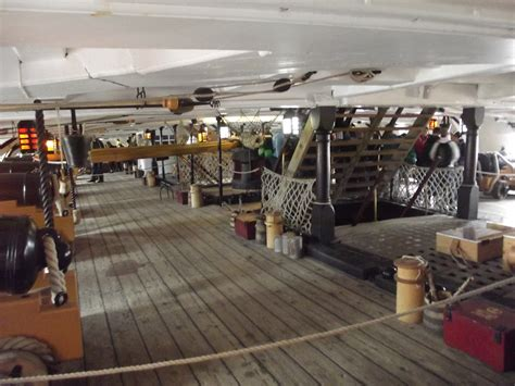 HMS Victory - Portsmouth Historic Dockyard - Lower Deck
