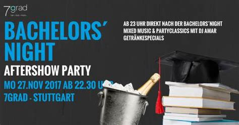 DHBW Bachelors´ Night Aftershow Party - Montag 27