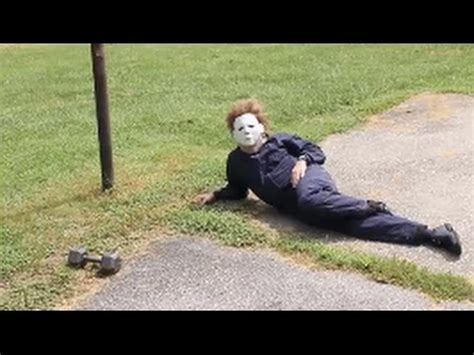 Michael Myers Halloween BLOOPERS and OUTTAKES - YouTube