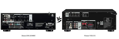 Denon AVR-X540BT vs Pioneer VSX-531 Review [2020