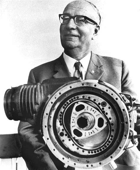 Facts About Felix Wankel: It started with a dream at age