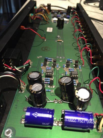 Forte Model 2 Class A Preamplifier MC/MM Stage Recapped