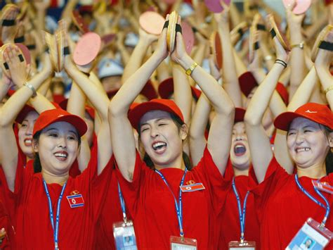 North Korea is sending its cheer squad to the Winter