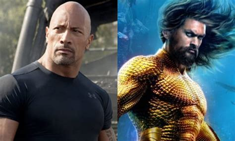 Dwayne Johnson wanted Jason Momoa to play his brother in