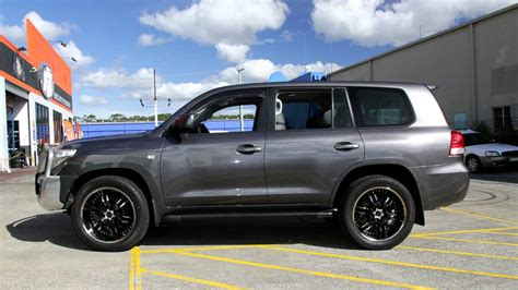 Toyota Landcruiser custom rims 22 inch Elite Carnal wheels